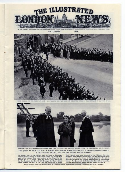 1956 ILLUSTRATED LONDON NEWS St Malo SS SPYROS NIARCHOS Coal Gasification KARIBA DAM Newspaper (2116